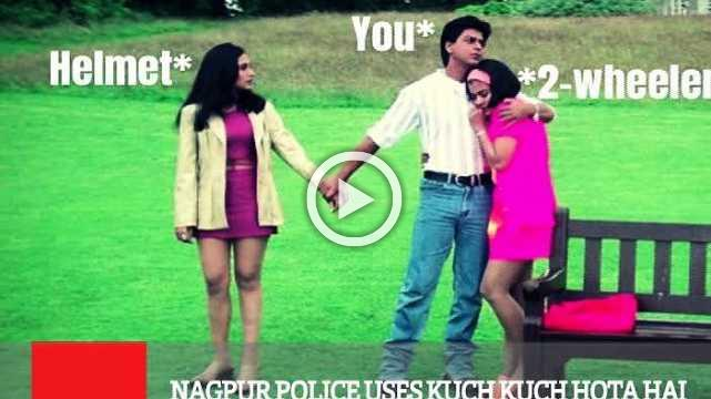 Nagpur Police Uses Kuch Kuch Hota Hai Reference For Safety