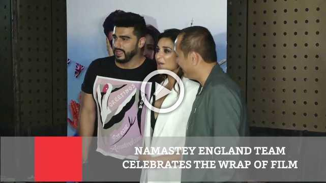 Namastey England Team Celebrates The Wrap Of Film