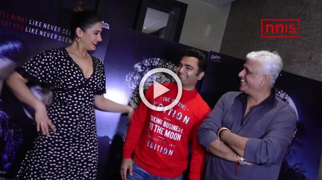 Nargis Slays In A Black Top At 'Amavas' Promotional Interview