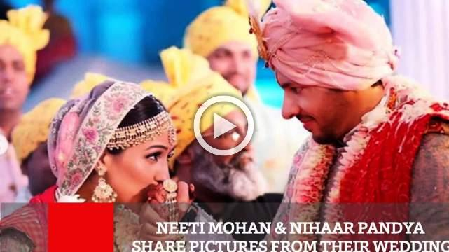 Neeti Mohan & Nihaar Pandya Share Pictures From Their Wedding