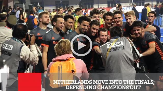 Netherlands Move Into The Finals, Defending Champions Out