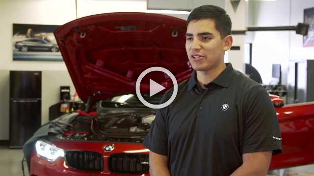 New BMW and UTI Program Prepares Service Members for Civilian Careers as BMW Automotive Technicians - Interviews