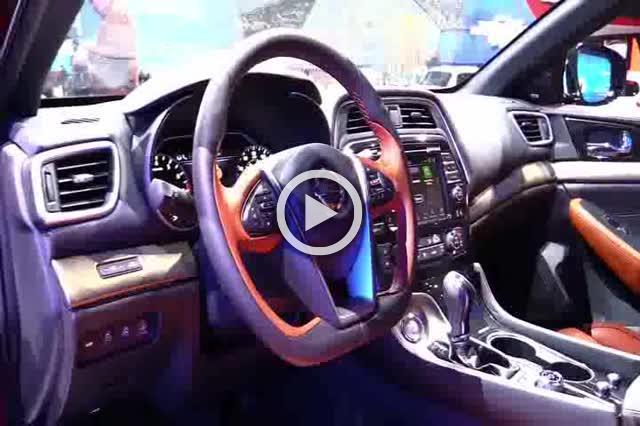 Nissan Maxima Platinum Exterior and Interior Walkaround Part II