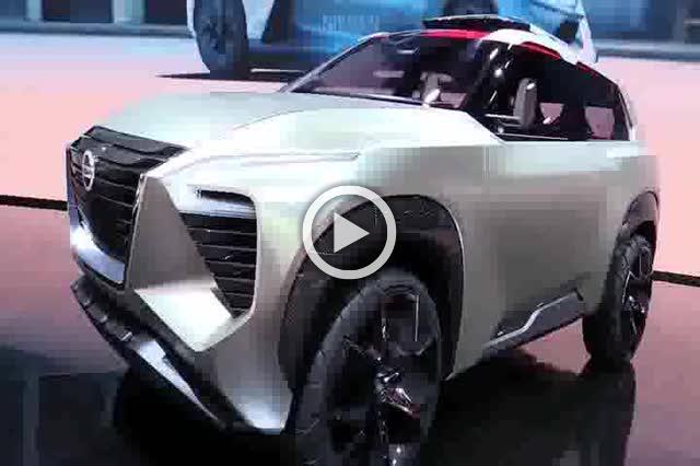 Nissan X Motion Concept Walkaround Auto Show