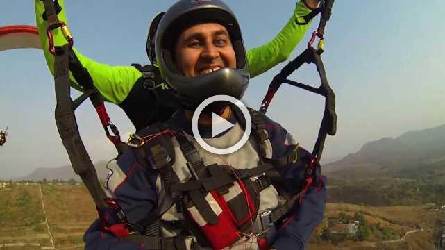 Nnis Exclusive Chat With First Indian Solo Paraglider Divyanshu Ganatra