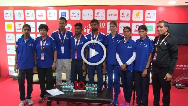 Nnis Speaks With India's Best Marathon Runners On The Eve Of ADHM