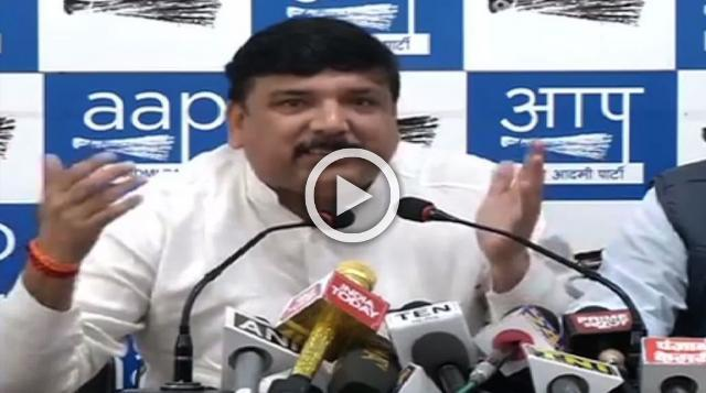 No Proof Of Assault, AAP Being Hounded – Sanjay Singh