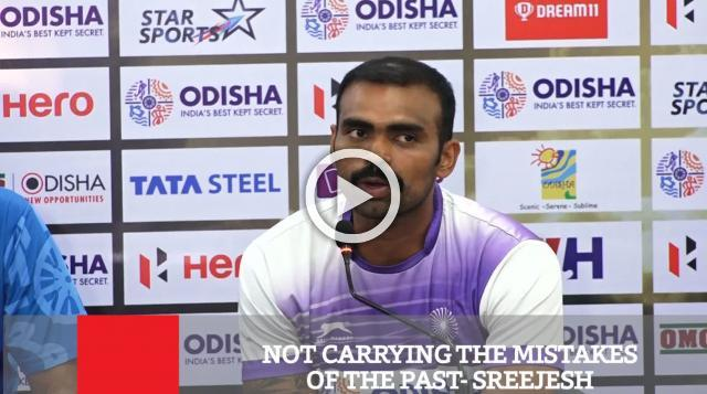 Not Carrying The Mistakes Of The Past- Sreejesh