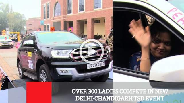 Over 300 Ladies Compete In New Delhi-Chandigarh TSD Event