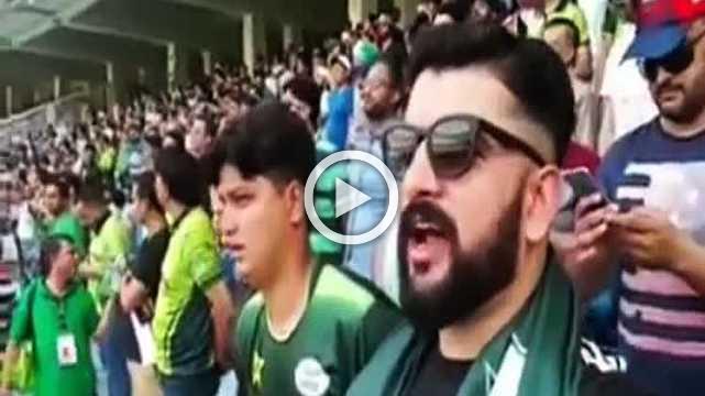 Pakistani Fan Sings National Anthem, Takes Social Media By Storm