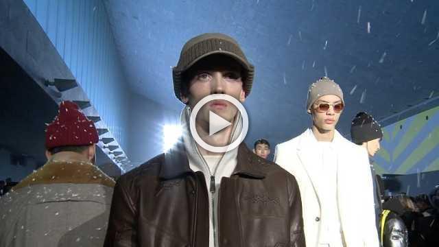 Ermenegildo Zegna : Menswear show Autumn/Winter 2018/19