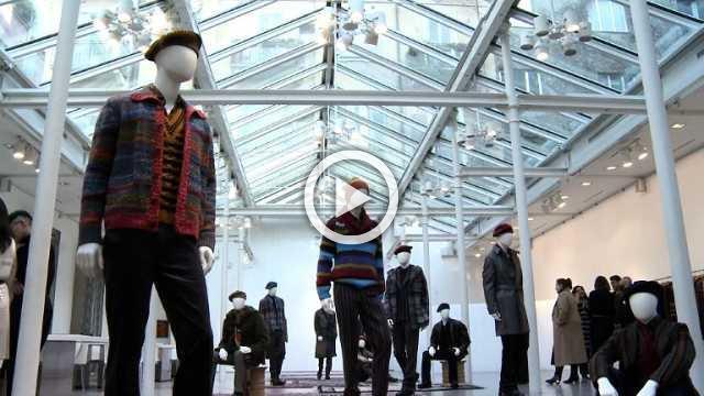 MISSONI : Mens presentation Autumn/Winter 2018/19 (with interview)