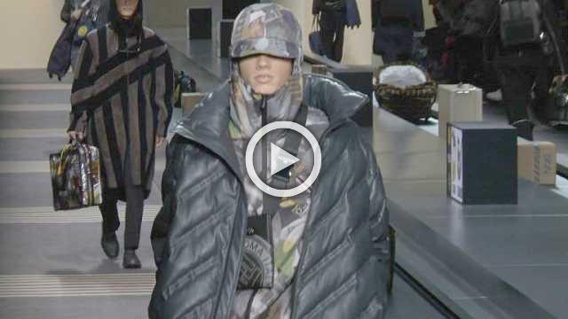 Fendi : Mens collection Autumn/Winter 2018/19 (with interview)