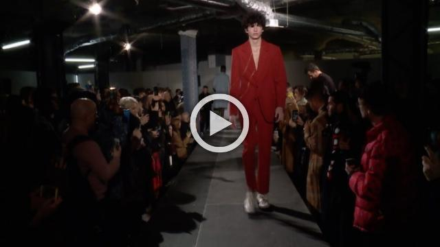 Acne Studios: Men's show Autumn/Winter 2018/19