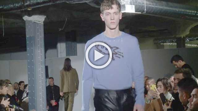 Acne Studios: Men's show Autumn/Winter 2018/19 (with interview)
