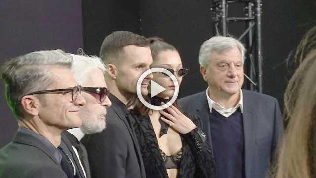Dior Homme : Men's show Autumn/Winter 2018/19 (with interviews)