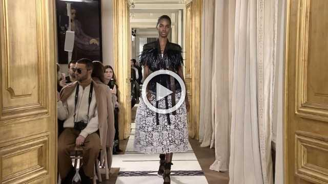 Schiaparelli: Haute Couture show Spring/Summer 2018 (with interview)