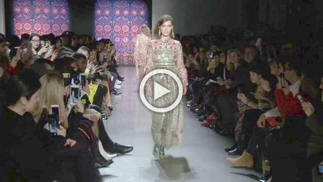 Anna Sui - Women's Collection Autumn/Winter 2018/19 in New York