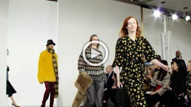 Michael Kors- Women's and men's Collection Autumn/Winter in New York (with interview)