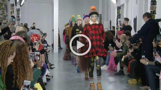 Nicopanda Show - Men's and Women's CollectionAutumn/Winter 2018/19 in London