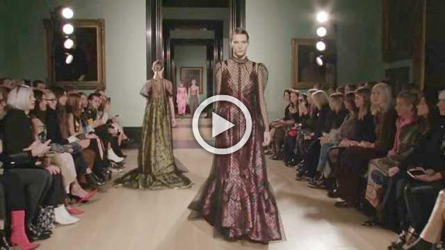 Erdem Show- Women's Collection Autumn/Winter 2018/19 in London