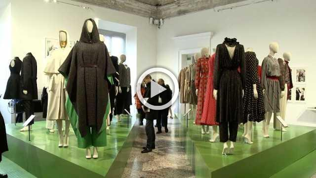 """The official opening of the exhibition """"Italiana : Italy through the Lens of Fashion 1971 – 2001"""" at Palazzo Reale in Milan (with interview)"""