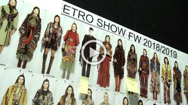 ETRO Show - Women's Collection Autumn/Winter 2018/19 in Milan