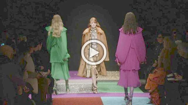 Marco de Vincenzo Show- Women's Collection Autumn/Winter 2018/19 in Milan
