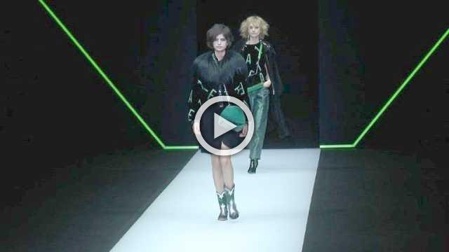 Emporio Armani Show - Women's Collection Autumn/Winter 2018/19 in Milan
