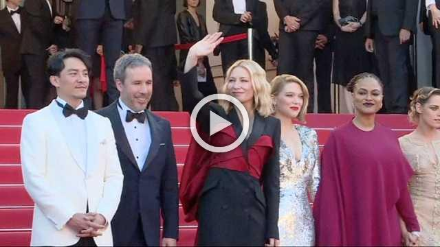 Cannes: glitter, sequins and lamé… a gleaming and glamorous end to the festival!