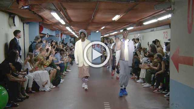Marni : Menswear show Spring/Summer 2019