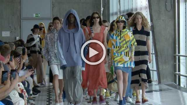 Sunnei : Men's and Women's show Spring/Summer 2019
