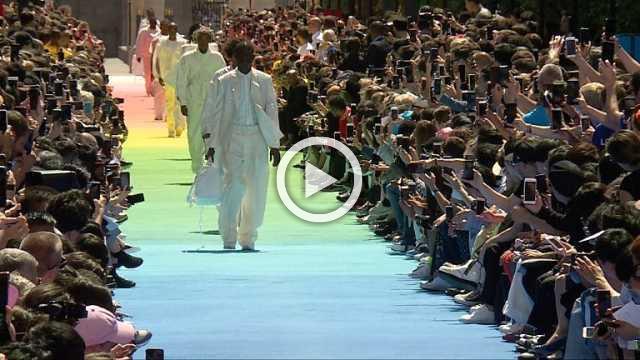 Louis Vuitton: Men's show Spring/Summer 2019