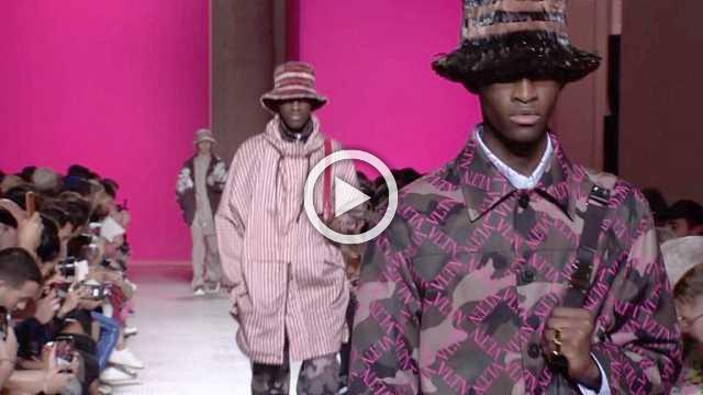 Valentino: Men's show Spring/Summer 2019