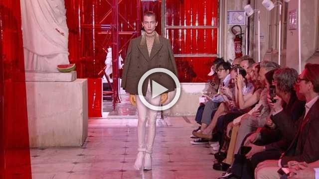 Maison Margiela : Men's show Spring/Summer 2019