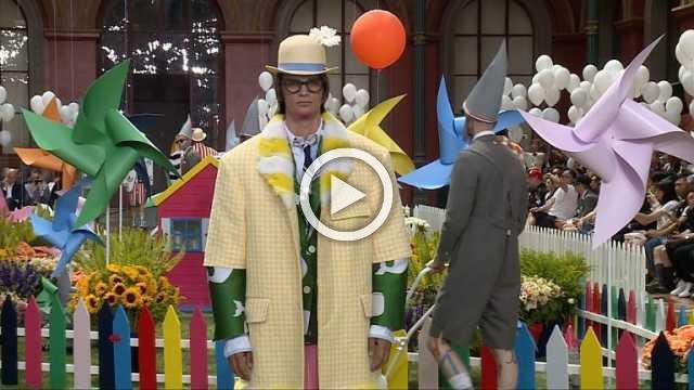 Thom Browne : Men's show Spring/Summer 2019 (with his interview)