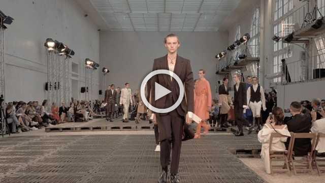Alexander McQueen : Men's show Spring/Summer 2019