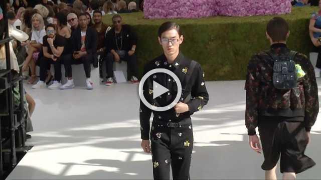 Dior Homme : Men's show Spring/Summer 2019