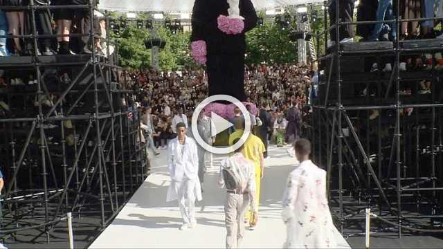 Dior Homme : Men's show Spring/Summer 2019 (with interviews)