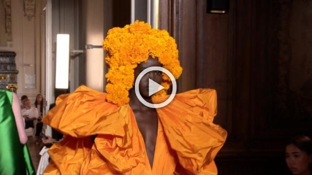 Valentino- Show Haute Couture Autumn/Winter 2018/19 in Paris
