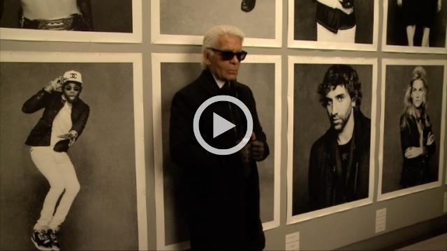 "Key Fashion Moment: 2012 : Chanel's ""little black jacket"" shown in Paris through 108 photos signed Karl Lagerfeld"