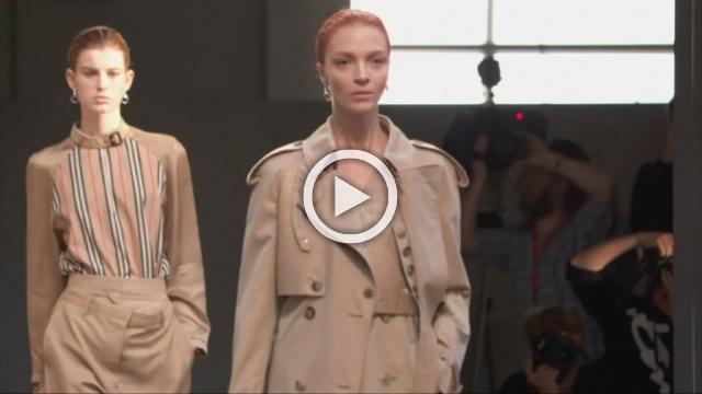 Burberry - Men's and Women's Spring/ Summer 2019 Collection in London