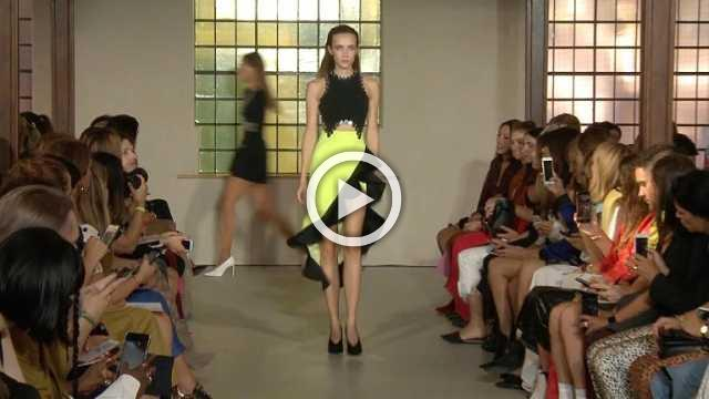 David Koma - Women's Spring/Summer 2019 Collection in London (with interview)