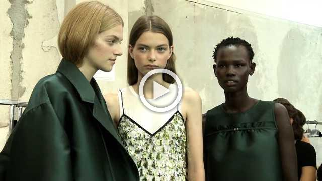 N°21 - Women's Spring/Summer 2019 Collection in Milan (with interview)