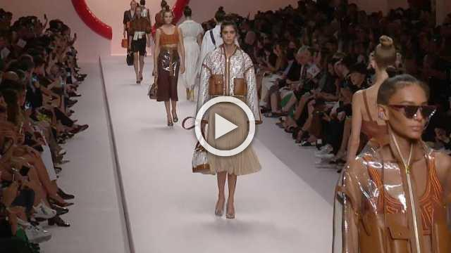 Fendi - Women's Spring/Summer 2019 Collection (with interview)