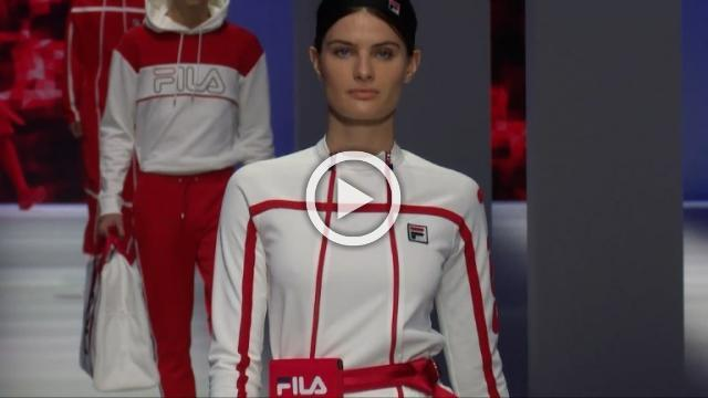 Fila - Women's Spring/Summer 2019 Collection in Milan (with interview)