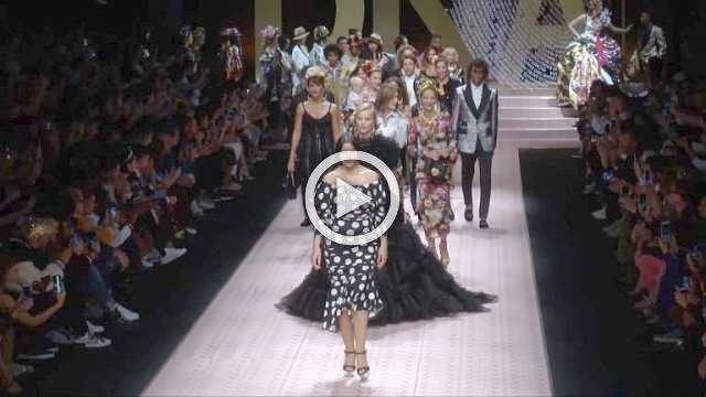 Dolce & Gabbana - Women's Spring/Summer 2019 Collection in Milan