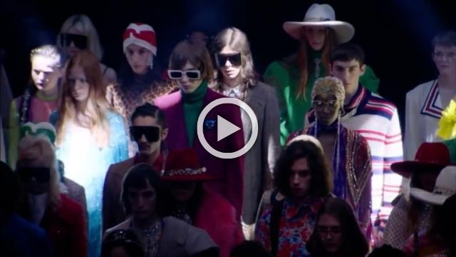 Gucci - Women's Spring/Summer Collection 2019 in Paris