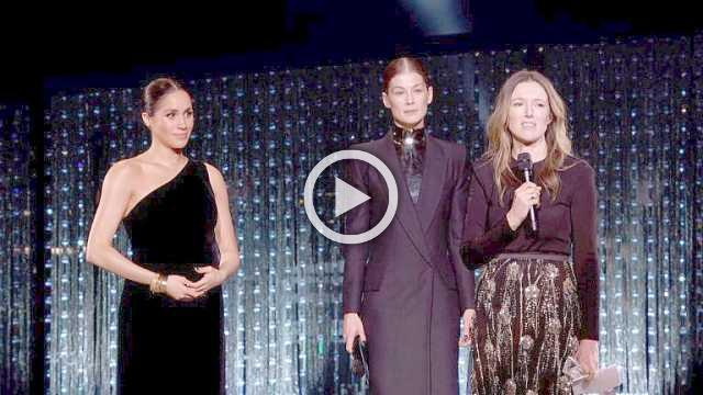 British Fashion Awards latest ceremony illuminated by the presence of Meghan Markle