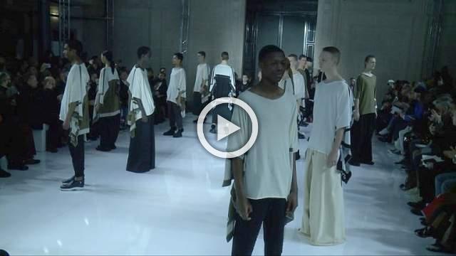 FUMITO GANRYU : Men's Autumn/Winter 2019/2020 Show in Paris